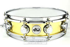 DW Collectors Bell Brass Snare Drum 14x4 w/ Chrome Hardware