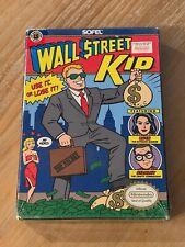 Wall Street Kid 1990 Nintendo NES Factory Sealed Brand New H Seam See Photos