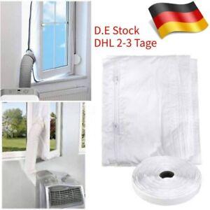4m Klimaanlage Auslass Fensterabdichtung für mobile Klimageräte Ablufttrockner