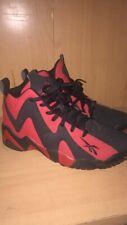 Reebok kamikaze 2 (Rojo y Negro) UK Size 10 leer descripción