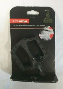 """Raleigh Wellgo 1/2"""" MTB resin pedals - free p+p"""