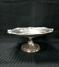 """GORHAM STERLING SILVER COMPOTE #718 ~ CHANTILLY - DUCHESS ~ 10.5"""" RARE"""
