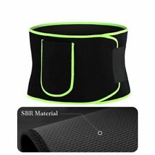 Waist Trimmer Belt Slim Body Sweat Wrap for Stomach and Back Lumbar Stomach