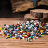 100g Bulk Tumbled Stones Mixed Agate Quartz Crystal Minerals Healing G8Z8