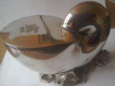 Elkington Plated Spoon Warmer ,Nautilus Pompilius Shell Shape.