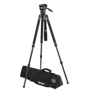 Miller Compass 15 Solo 75 2-Stage Alloy Tripod System