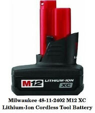 NEW !!! Milwaukee 48-11-2402 M12 Xc Battery Pack