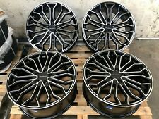 "20"" VELOCITY *LOAD RATED* ALLOY WHEELS + TYRES FIT VW TRANSPORTER T5 / T6"