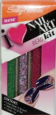 1 Sally Hansen Salon Nail Art Bead Kit #440 3 Vials 1 Pick Up Tool 1 Shaker Top