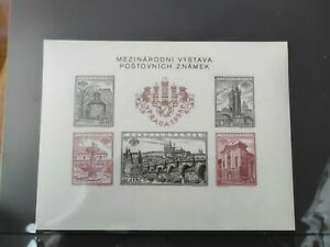 Briefmarken Tschechoslowakei Block 16 B postfrisch