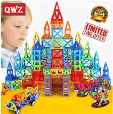 Magnet Tiles 246pc Clear Color 3D Magnetic Building Blocks Tiles Educational Toy