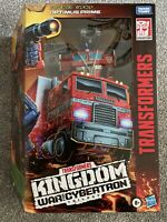 Transformers War For Cybertron Kingdom Leader Class Optimus Prime