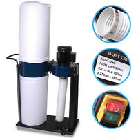 230V 750W GARAGE WORKSHOP 1HP WOOD CHIP SAW DUST COLLECTOR EXTRACTOR VACUUM