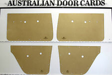 Holden EH, EJ Sedan & Wagon Door Cards. Blank Trim Panels. Quality Masonite