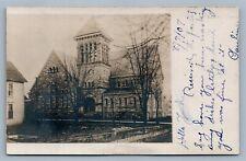 TITUSVILLE PA 1907 REAL PHOTO POSTCARD RPPC