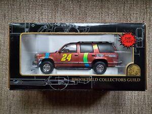 Jeff Gordon DuPont ChromaLusion Chevrolet Tahoe 1:25 Diecast Brookfield C. Guild