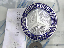 Original Mercedes W123 Kühlergrill Reparatursatz mit Emblem zum Schrauben NOS!