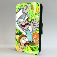 Ricky And Morty Cartoon FLIP PHONE CASE COVER for IPHONE SAMSUNG