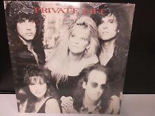 "Private Life Shadows 12"" SEALED VINYL LP RECORDproduced by Eddy Van Halen 1988"
