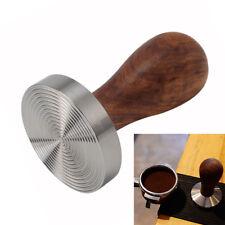58mm Kaffee Tamper Espresso Stampfer Edelstahl Tamper Holzgriff Kaffee Tamper DE