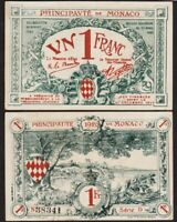 1 FRANC 1920 MONACO - P5 (D)