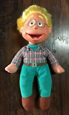 """Vtg 1994 Fisher Price Puzzle Place Ben Olafson the Norwegian Boy 14"""" Tall Doll"""