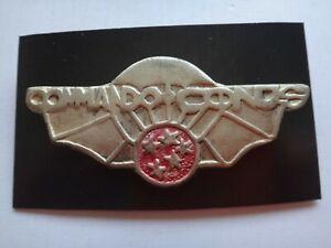 Indochine Guerre Français Armée Commando Conus Métal Badge