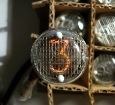 6 x IN-4 LARGE RUSSIAN USSR READOUT NIXIE TUBES NEW NOS