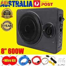 8'' 600W Car Subwoofer and Amp Active Amplifier Under Seat Slim