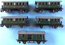Konvolut 5x Märklin Personenwagen 4x327, 1x328 OK Spur 00/H0 Modell Eisenbahn~50