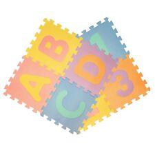 ABC 123 ALPHABET NUMBER LETTER KIDS PLAY PUZZLE MATS FLOOR MAT TILES FOAM