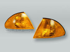 DEPO Amber Corner Lights Parking Lamps PAIR fits 1999-2001 BMW 3-Series E46 4DR