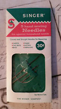 Singer Hand Sewing Needles Repair Needles Vintage Carpets Chairs Bags Tarpaulins
