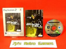 Tom Clancy's Splinter Cell (PS2) Platinum Shooter