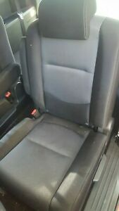 2006 MAZDA 5 LEFT DRIVER REAR 2ND SECOND ROW SEAT GREY & BLACK 2006-2010