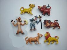 DISNEY THE LION KING LARGE FIGURINES SET NESTLE FIGURES COLLECTIBLES MINIATURES