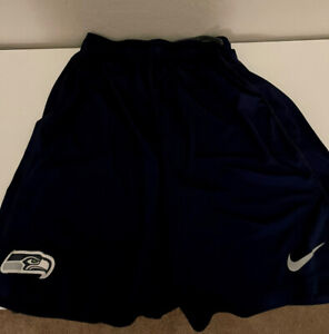 Nike Dri-Fit Seattle Seahawks Shorts - Medium