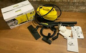 """🔥 Karcher SC 3 SC3 EasyFix STEAM CLEANER """"Made in Germany"""" Kärcher w/ all tools"""