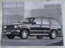 Ford Explorer press photo Dec 1992 v6