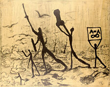 A. R. PENCK + GEORG BASELITZ / SELTENES ORIGINALPLAKAT