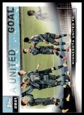 2021 MLS Base #153 Minnesota United FC - Team Card