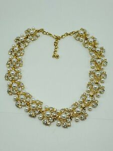 CLEARANCE Vintage Kenneth Jay Lane 3 Charm Gold Tone Necklace 28 Long