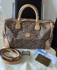 SALE! Gucci x Disney Mickey Mouse Carry-On Duffle/ Travel Bag