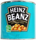 HEINZ BAKED BEANS IN TOMATO SAUCE 2.62KG TIN CATERING BULK SIZE