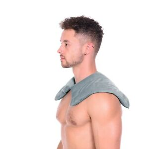 Stylish Soft Touch Silica Bead Moist Heat Pack for Shoulder/Neck Pain Relief
