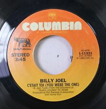 Rock 45 Billy Joel - C'Etait Toi (You Were The One) / Dont Ask Me Why On Columbi