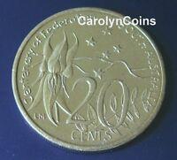 2001 20c Centenary of Federation South Australia SA 20 Cent Australian Coin UNC