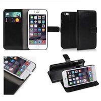 Housse Etui Coque Portefeuille Support Vidéo cuir PU Pour Apple Iphone 7/8 Noir