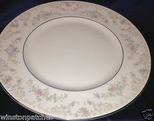 "ROYAL DOULTON H5079 THE ROMANCE COLLECTION DIANA DINNER PLATE 10 3/4"" FLOWERS"