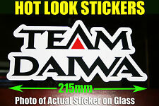 Team Daiwa Reel Rod Sticker Vinyl Decal for boat Fishing dinghy tackle Box